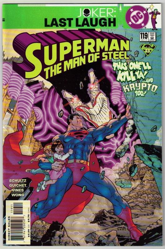 Superman  The Man of Steel #119 comic book mint 9.8