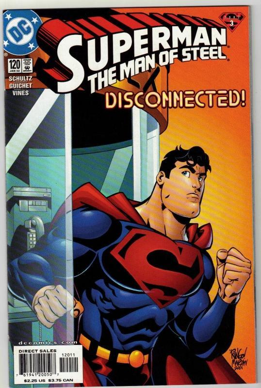 Superman  The Man of Steel #120 comic book mint 9.8