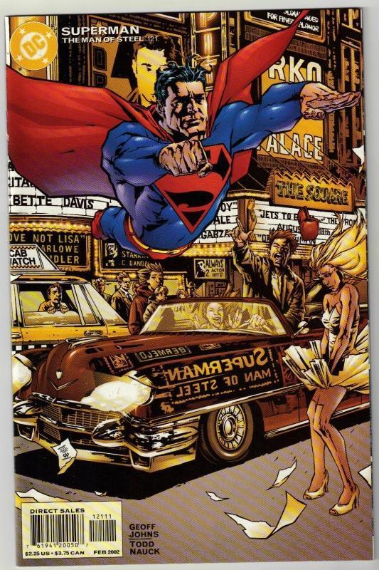 Superman  The Man of Steel #121 comic book mint 9.8