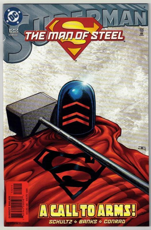 Superman  The Man of Steel #122 comic book mint 9.8