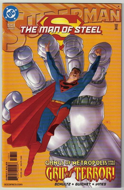 Superman  The Man of Steel #123 comic book mint 9.8