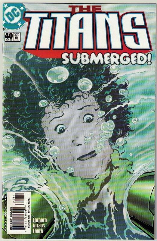 Titans #40 comic book mint 9.8