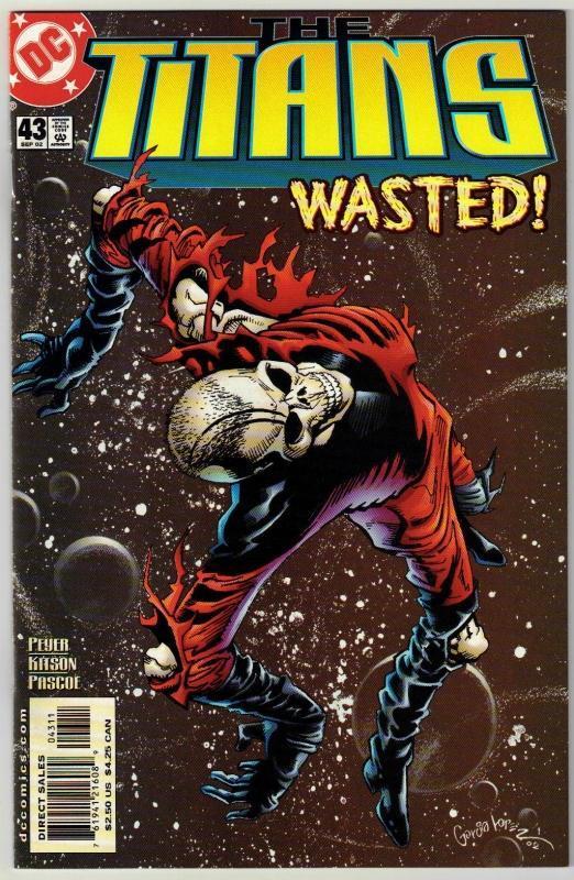Titans #43 comic book mint 9.8