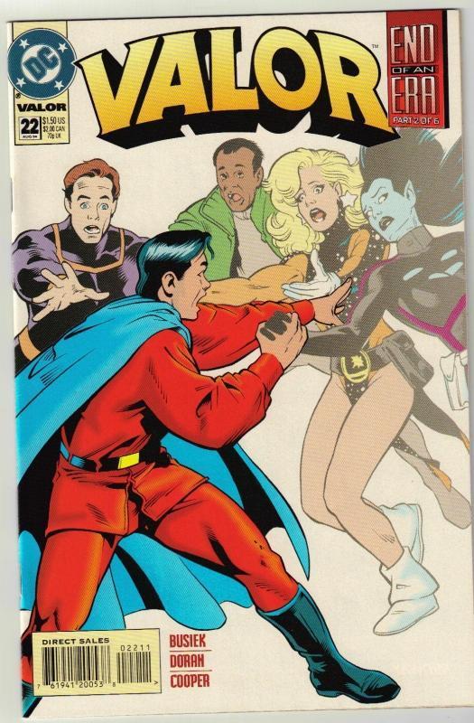 Valor #22 comic book near mint 9.4