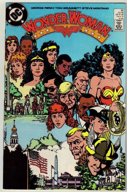 Wonder Woman #32 comic book near mint 9.4