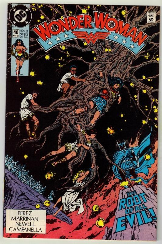 Wonder Woman #40 comic book near mint 9.4