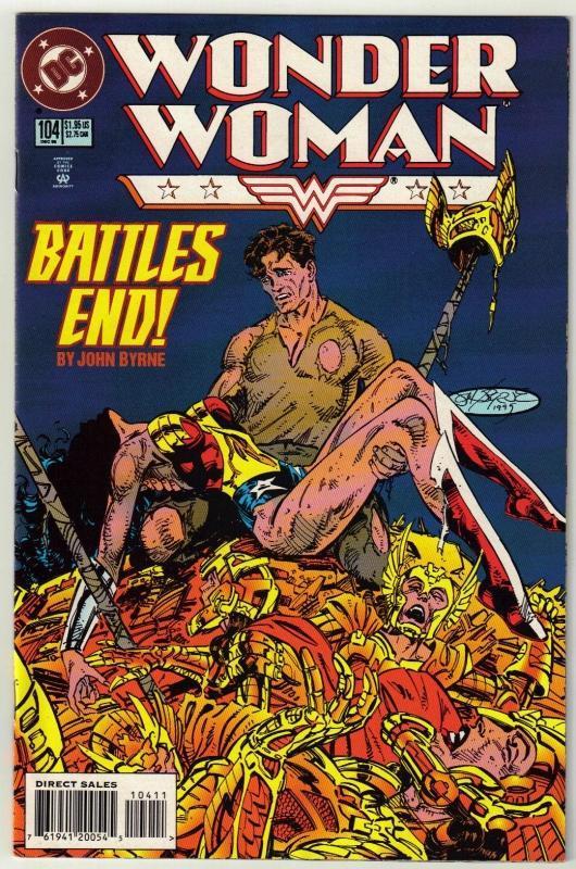 Wonder Woman #104 comic book near mint 9.4