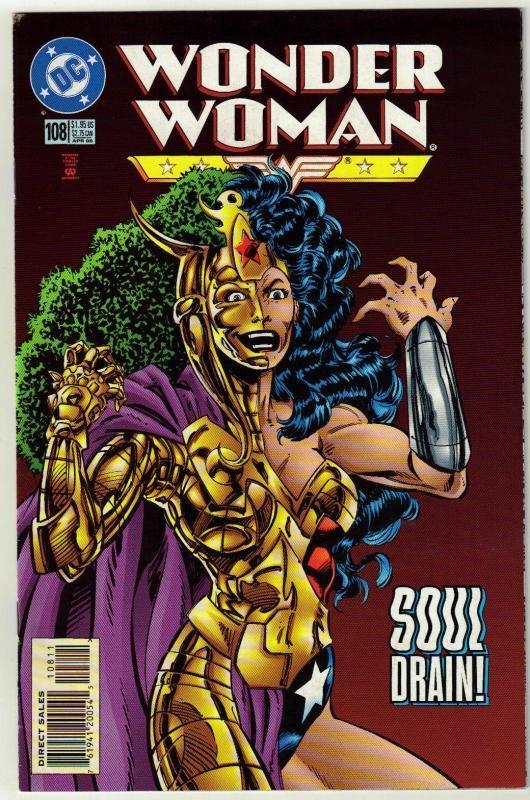 Wonder Woman #108 comic book near mint 9.4