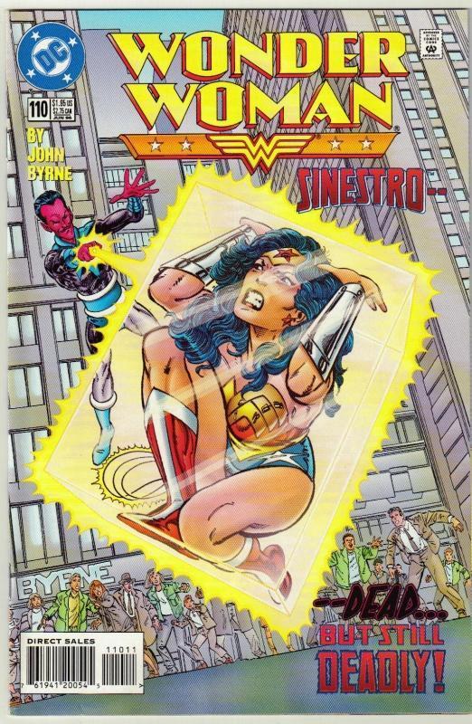 Wonder Woman #110 comic book near mint 9.4