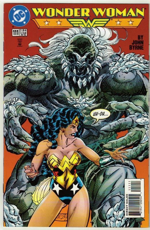 Wonder Woman #111 comic book near mint 9.4
