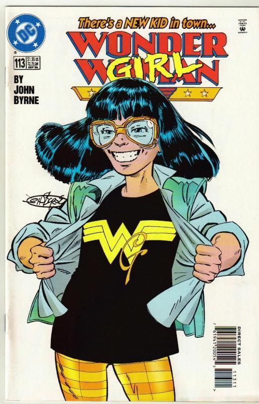 Wonder Woman #113 comic book near mint 9.4