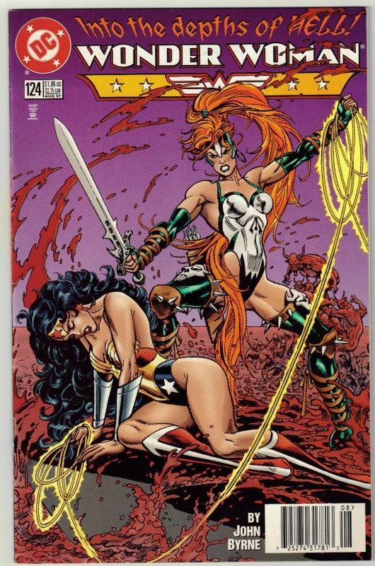 Wonder Woman #124 comic book near mint 9.4