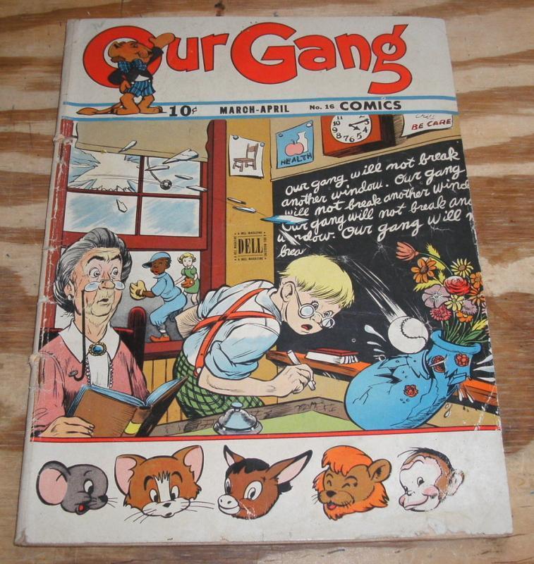 vg/fn 5.0 Our Gang comic #16