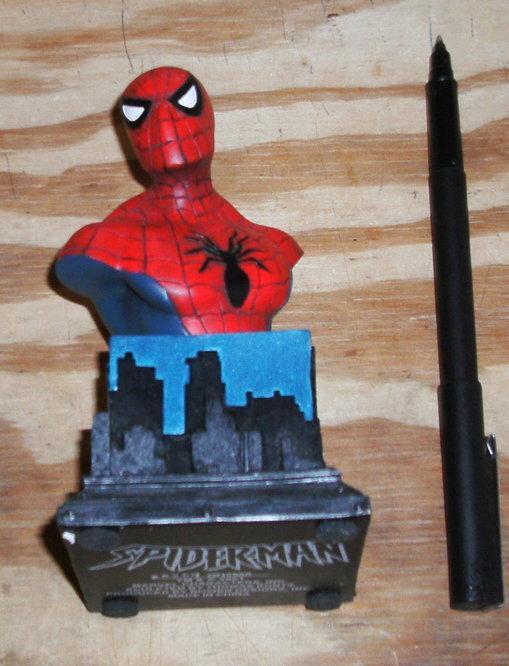 Spider-man Mini-Bust Thomas Kuntz