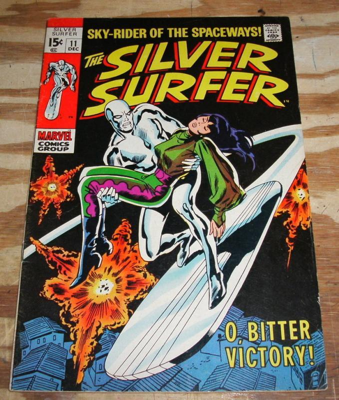Silver Surfer #11 comic book fine plus 6.5
