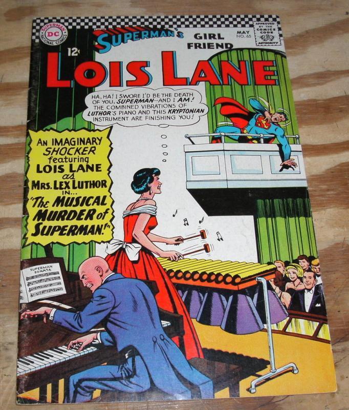 Superman's Girlfriend Lois Lane #65 comic book vf 8.0