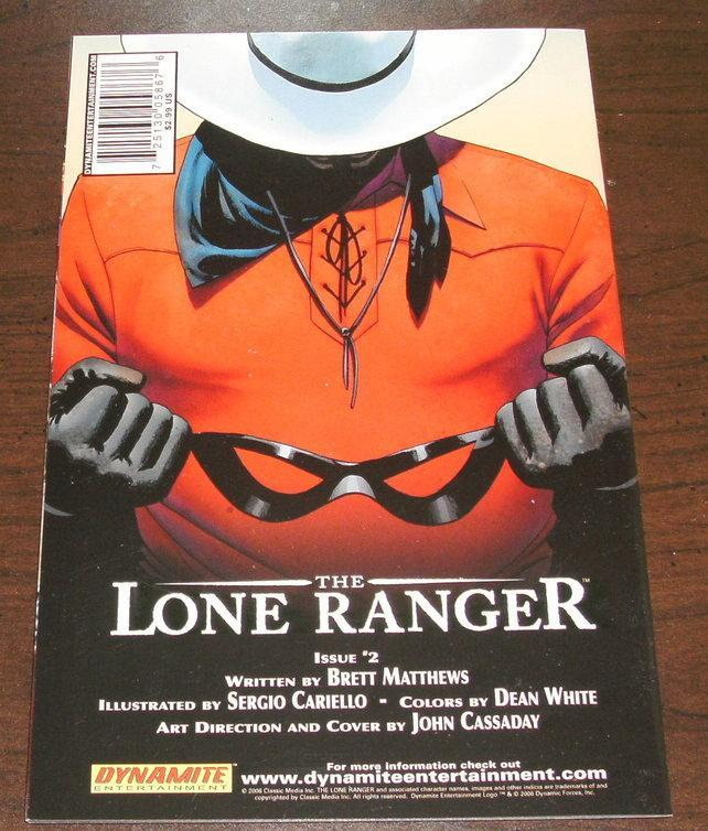 Lone Ranger #1 2nd printing regular cover comic book mint 9.8
