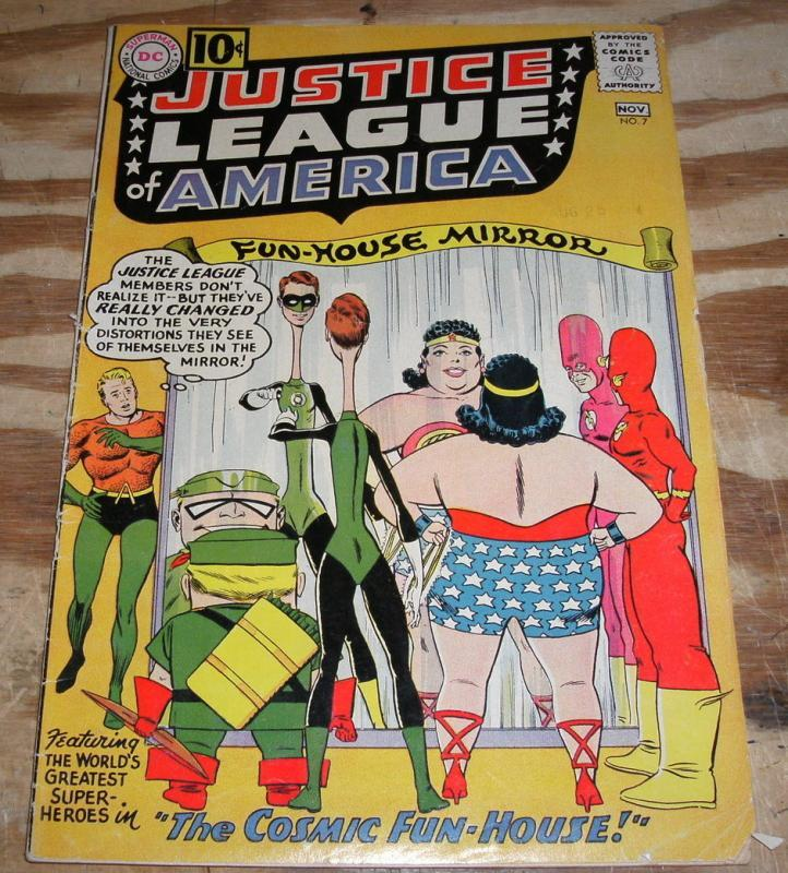 vg/fn 5.0 Justice League of America comic  #7