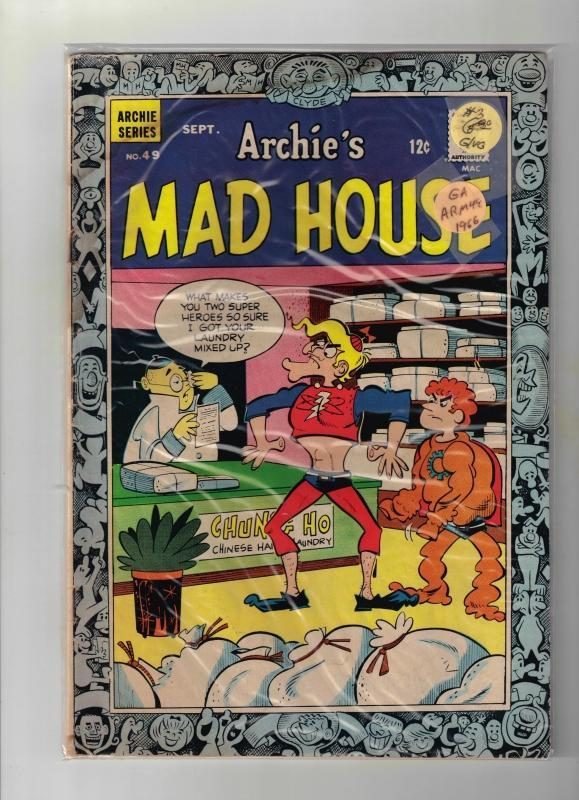 Archie's Mad House #49 comic book good/very good 3.0