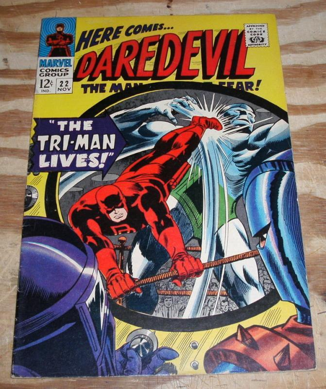 Daredevil #22 comic book very fine 8.0