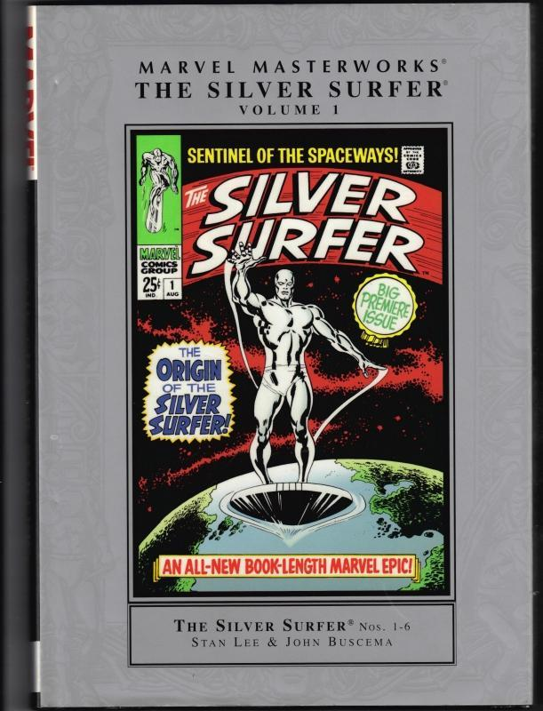 Marvel Masterworks Silver Surfer vol 1 brand new mint hardback