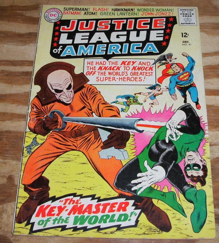 Justice League of America #41 comic book fine 6.0