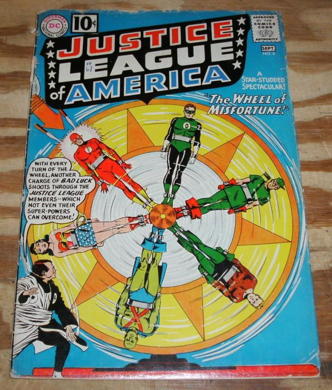 vg 4.0 Justice League of America comic #6