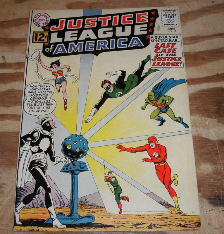 vg/fn 5.0 Justice League of America comic  #12