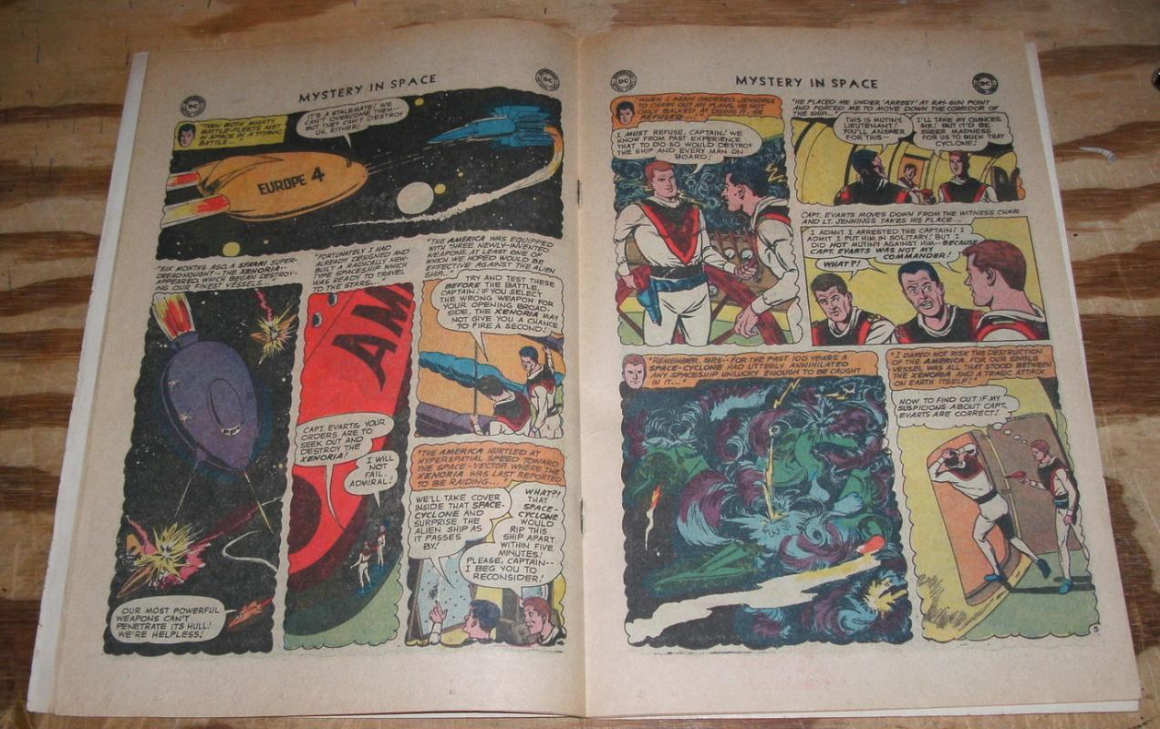 Mystery In Space #63 comic book vg/fn 5.0
