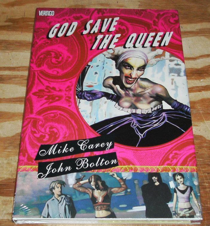 God Save the Queen Vertigo hardback uncirculated
