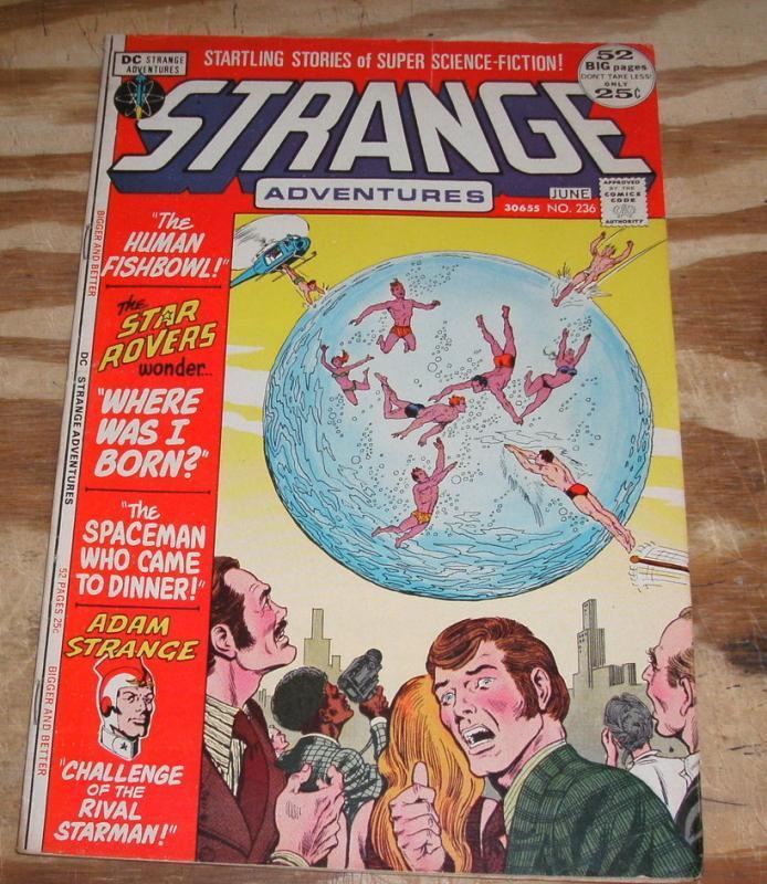 Strange Adventures #236 fine/very fine 7.0