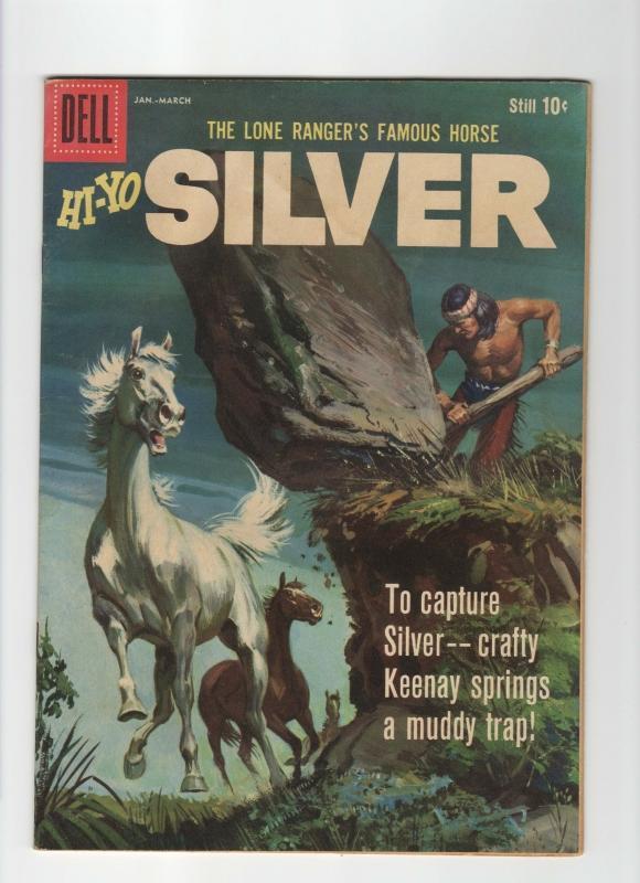 Hi-Yo Silver #33 very good 4.0