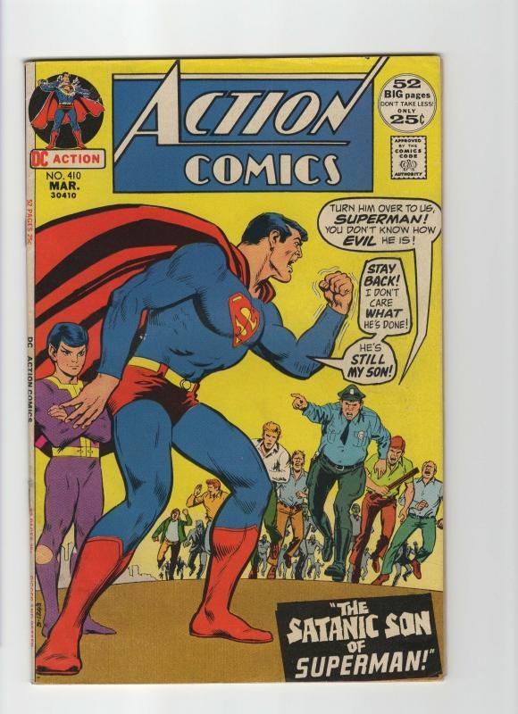 Action Comics #410 very good/fine 5.0