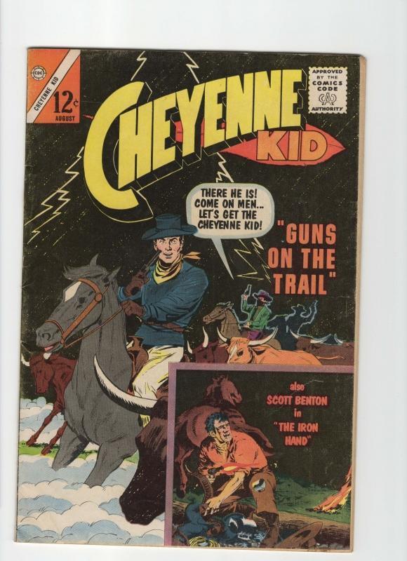 Cheyenne Kid #41 fine 6.0