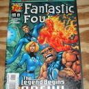 Fantastic Four volume 2 #1 comic book mint 9.8