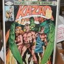 Kazar the Savage 8 issue assortment of comic books