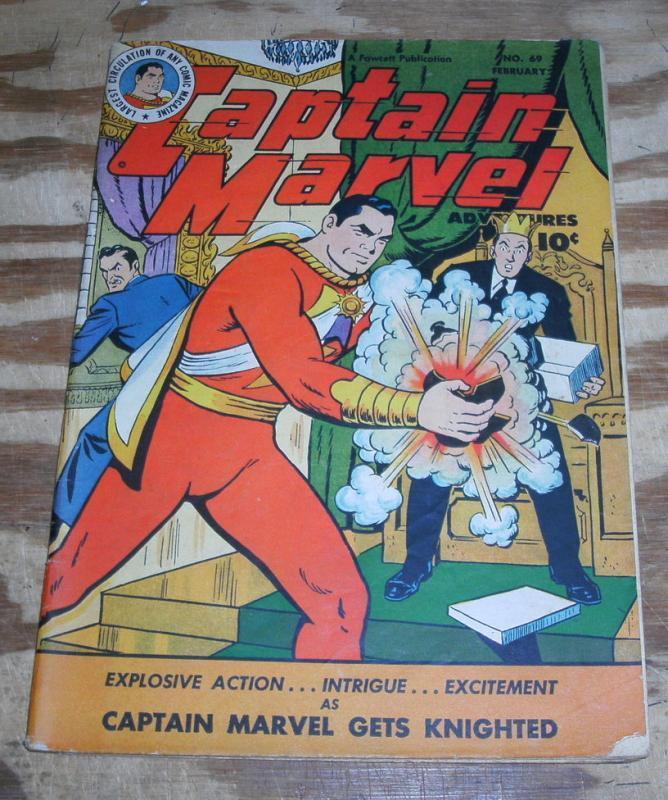 Captain Marvel Adventures #69 fine 6.0