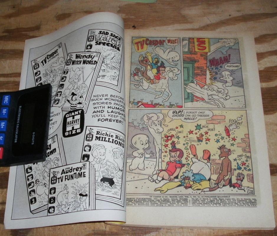 TV Casper and Company #11 comic book very fine 8.0