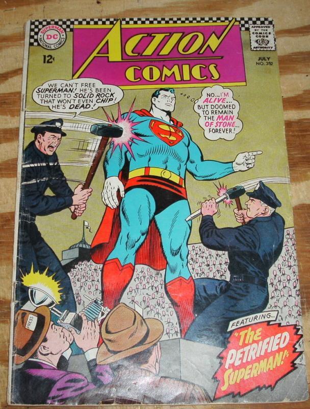 Action Comics #352 very good 4.0