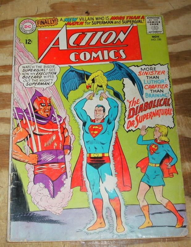 Action Comics #330 good/very good 3.0