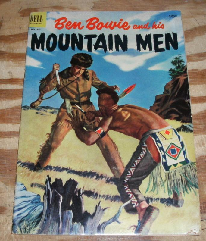 Ben Bowie Mountain Man #443 very good/fine 5.0