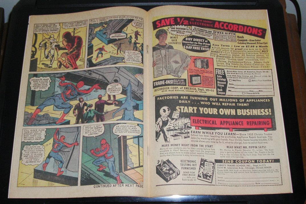 Amazing Spider-man #36 very fine/near mint 9.0