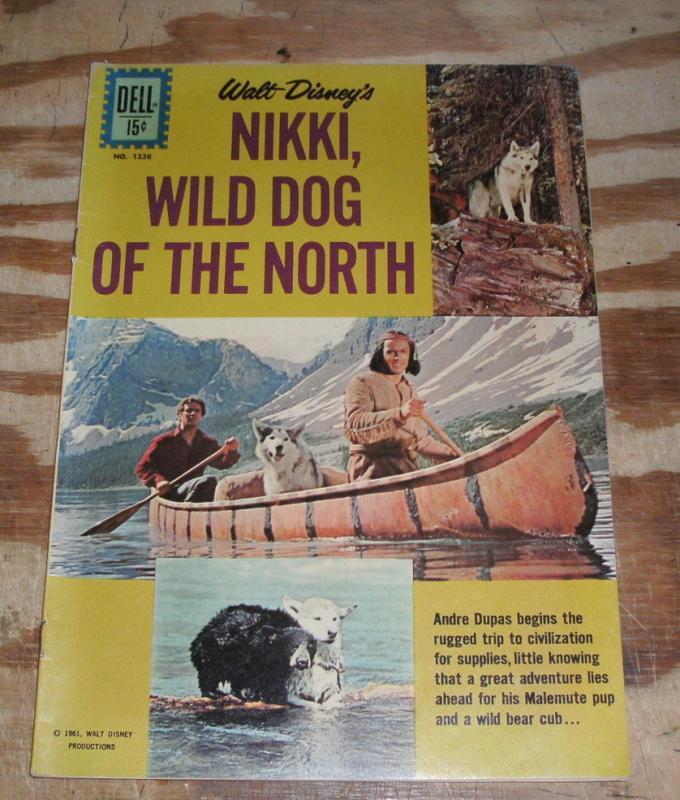 Nikki, Wild Dog of the North comic very fine 8.0