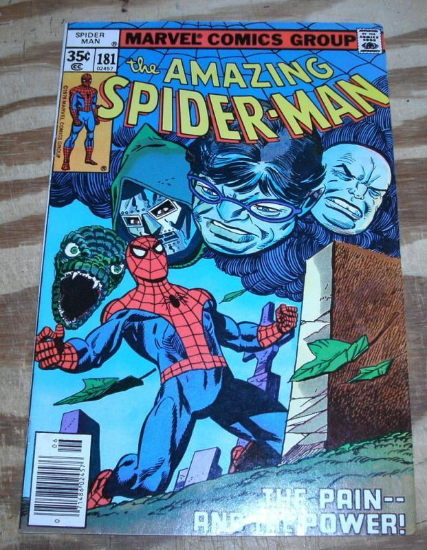 Amazing Spider-man #181 very fine 8.0