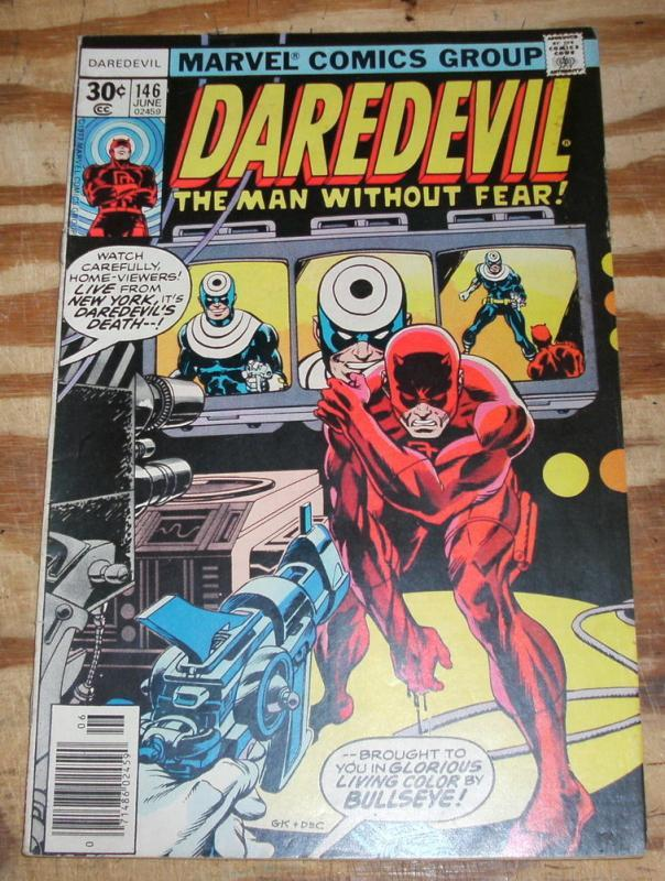 Daredevil the Man Without Fear #146 very fine 8.0