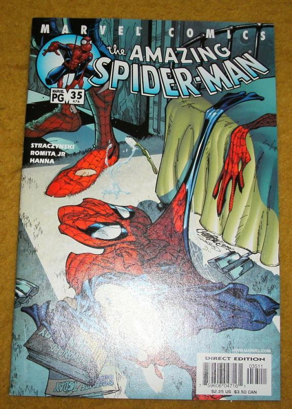 Amazing Spider-man vol 2 #35 near mint/mint 9.8