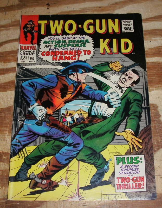 Two-Gun Kid #90 very fine 8.0