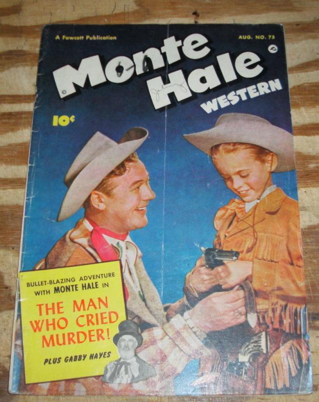 Monte Hale Western #75 very good/fine 5.0