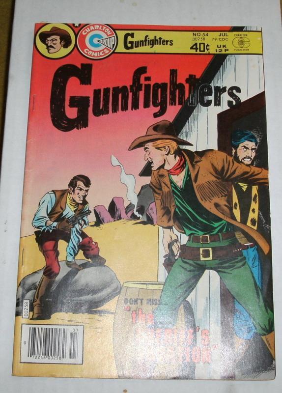 Gunfighters #54 comic book very fine/near mint 9.0