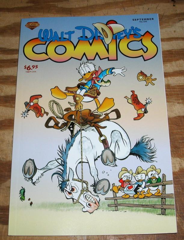 Gemstone Publications' Walt Disney's Comics #636 near mint/mint 9.8